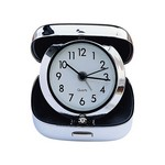 Personalized Square Folding Travel Alarm Clock