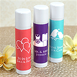 Personalized Lip Balm - Silhouette Collection (White Tube)
