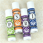 Personalized Monogram Lip Balm (White Tube)
