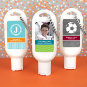 Bar Mitzvah & Bat Mitzvah Personalized Sunscreen with Carabiner (SPF 30)