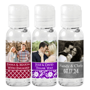 Personalized Photo Hand Sanitizer Favors