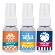 Personalized Sports Themed Hand Sanitizer Favors - 1oz Spray