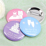 Personalized Buttons - Silhouette Collection (2.25
