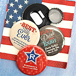 Personalized Patriotic Bottle Opener
