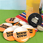 Brew Crew Bottle Openers (Set of 12)