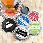 Vintage Bottle Cap Personalized Bottle Opener