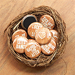 Wood Style Wedding Magnets (Set of 35)
