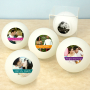 Personalized Photo Ping Pong Ball Favors