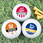 Personalized Golf Balls - Sports Themed