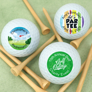 Golf Themed Personalized Golf Balls
