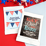 Personalized Patriotic Margarita Favors