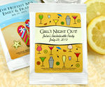 Personalized Mango Margarita Favors