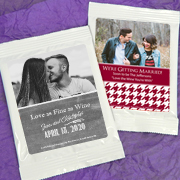 Personalized Photo Sangria Favors