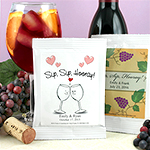 Personalized Sangria Favors