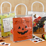 Personalized Halloween Mini Gift Tote Favor