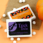 Personalized Halloween Mint Boxes
