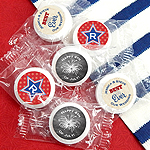 Personalized Patriotic Life Savers Mints