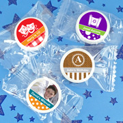Bar Mitzvah & Bat Mitzvah Personalized Life Savers Mint Favors