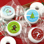Personalized Holiday Life Savers Mints