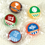 Personalized Life Savers Candy Favors - Sports Themed
