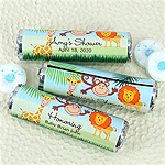 Personalized Baby Shower Breath Savers Mint Rolls