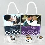 Personalized Photo Life Savers Mint Mini Gift Tote Favors