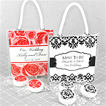 Personalized Life Savers Mint Mini Gift Tote Favors