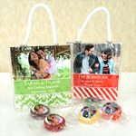 Personalized Photo Life Savers Candy Mini Gift Tote Favors