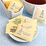 Personalized Wedding Sugar Substitute Packets (Set of 100)