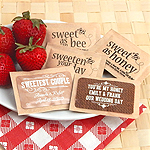 Personalized Honey Packets - Silhouette Collection (Set of 100)