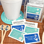 Personalized Creamer Packets - Silhouette Collection (Set of 100)