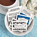 Personalized Wedding Creamer Packets (Set of 100)