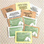 Personalized Coffee Bar Essentials - Silhouette Collection (Set of 500)