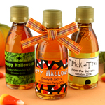 Personalized Halloween Maple Syrup