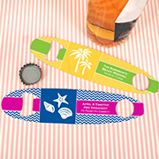 Personalized Surfboard Bottle Opener Wedding Favors