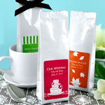 Personalized Gourmet Coffee Favors - Silhouette Collection (Tall Bag)