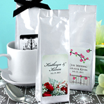 Personalized Gourmet Coffee Favors (Tall Bag)