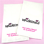 Personalized Bridesmaids Tea Towels