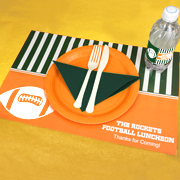 Personalized Placemats - Sports Themed