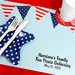 Personalized Patriotic Placemats
