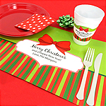 Personalized Holiday Placemats