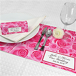 Personalized Wedding Placemats