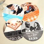 Personalized Photo Paper Coasters