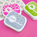 Personalized MOD Pattern Baby Mint Tins