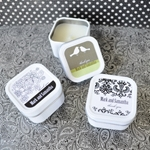 Elite Design Personalized Square Candle Tins