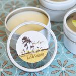 Elite Design Personalized Round Candle Tins