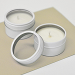 DIY Blank Round Candle Tins