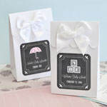 Personalized Sweet Shoppe Candy Boxes - Chalkboard Baby Shower (set of 12)