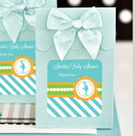 Personalized Sweet Shoppe Candy Boxes - Going to Pop - Blue (set of 12)