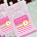 Personalized Sweet Shoppe Candy Boxes - Going to Pop - Pink (set of 12)